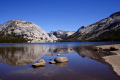 Tenaya Lake. In Yosemite National Park royalty free stock images