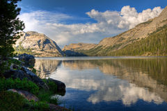 Tenaya Lake Reflection, Yosemite Royalty Free Stock Photo