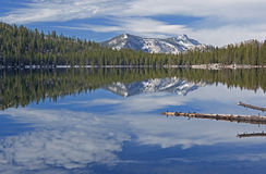 Tenaya Lake Reflections Royalty Free Stock Photos