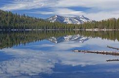 Tenaya Lake Reflections Royalty Free Stock Photos