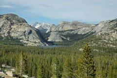 Tenaya lake in Tioga Pass, Yosemite Royalty Free Stock Photos