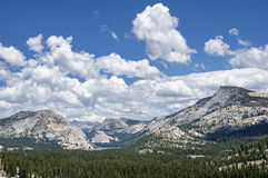 Tenaya Lake And Tuolumne Domes Stock Images