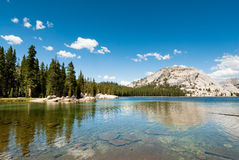 Tenaya lake yosemite Royalty Free Stock Images