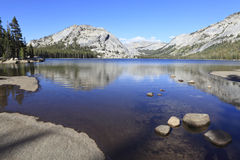 Tenaya Lake in Yosemite Royalty Free Stock Photo