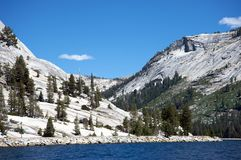 Tenaya Lake in Yosemite Royalty Free Stock Image