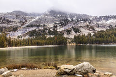 Tenaya Lake Yosemite Royalty Free Stock Image