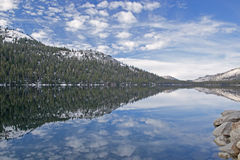 Tenaya Lake, Yosemite National Park Royalty Free Stock Images