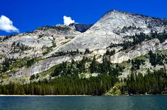 Tenaya Lake at Yosemite National Park Royalty Free Stock Photos
