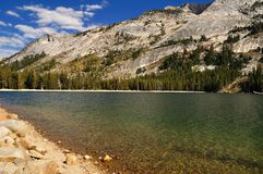 Tenaya lake in Yosemite National Park Royalty Free Stock Photos