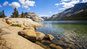 Tenaya Lake in Yosemite National Park Royalty Free Stock Images
