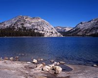 Tenaya Lake, Yosemite National Park, USA. Stock Image