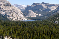 Tenaya Lake in Yosemite Royalty Free Stock Photography