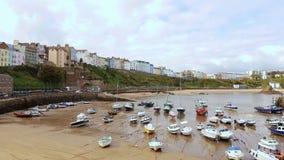 Tenby auf der pembrokeshire Küste Schalter Wales Großbritannien Lizenzfreie Stockbilder