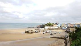 Tenby auf der pembrokeshire Küste Schalter Wales Großbritannien Lizenzfreies Stockbild
