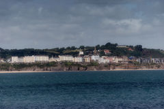 Tenby beach in Pembrokeshire Stock Photos