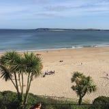 Tenby beach, Pembrokeshire, Wales Royalty Free Stock Photos
