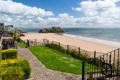 Tenby Beach Wales UK Royalty Free Stock Photography
