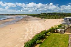 Tenby Beach Wales UK Royalty Free Stock Image