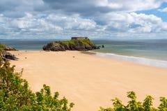 Tenby Beach Wales UK Royalty Free Stock Photo