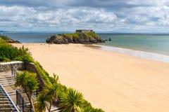 Tenby Beach Wales UK Stock Image