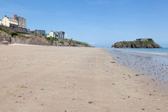 Tenby beach, Wales Stock Images