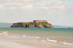 Tenby castle Stock Image