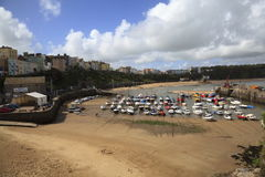Tenby Harbour stock image