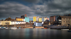 Tenby harbour Pembrokeshire. Tenby harbour in Pembrokeshire, the holiday capital of West Wales Stock Photography