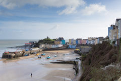 Tenby harbour Pembrokeshire Wales UK Royalty Free Stock Images