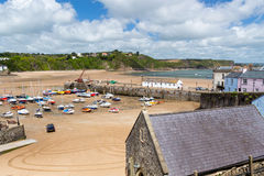 Tenby Harbour Wales Stock Photography
