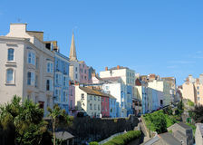 Tenby haut Photos stock