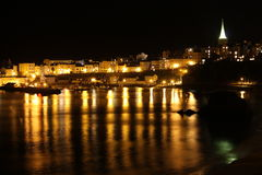 Tenby at Night Stock Photo