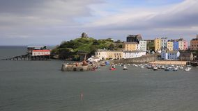 Tenby Pembrokeshire Wales historic Welsh town Royalty Free Stock Photo