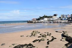 TENBY AND THE SEASIDE WEST WALES UK royalty free stock image
