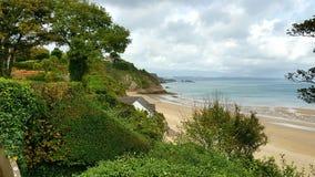 Tenby sulla costa del pembrookshire del Galles Regno Unito Fotografie Stock Libere da Diritti