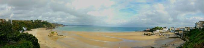 Tenby sur la côte de pembrokeshire Commutateur Pays de Galles R-U Image libre de droits
