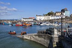 Tenby Harbour Royalty Free Stock Images