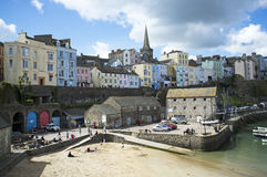 Tenby a Welsh holiday resort Wales UK Royalty Free Stock Photos