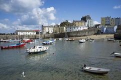 Tenby a Welsh holiday resort Wales UK Stock Image