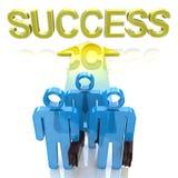 Tendência bem sucedida Imagens de Stock