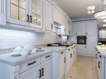 Tendência do art deco da cozinha Imagens de Stock Royalty Free