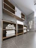 Tendência moderna do banheiro Fotografia de Stock