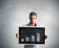 Tendência positiva Imagem de Stock Royalty Free