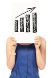 Tendência positiva Imagens de Stock Royalty Free