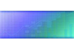 Tendência positiva do negócio Imagem de Stock