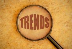 tendências Imagens de Stock Royalty Free