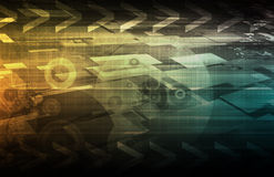 Tendências de tecnologia Imagem de Stock Royalty Free