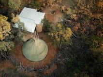 Tenda africana em uma reserva 5 grande fotos de stock royalty free