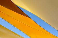 Tenda astratta di estate Fotografia Stock