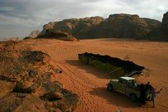 Tenda beduina Fotografia Stock